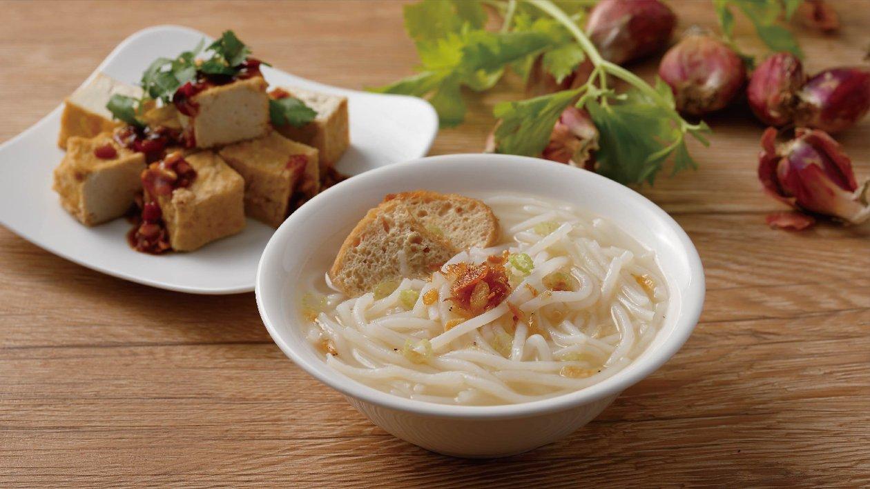 油豆腐米粉湯