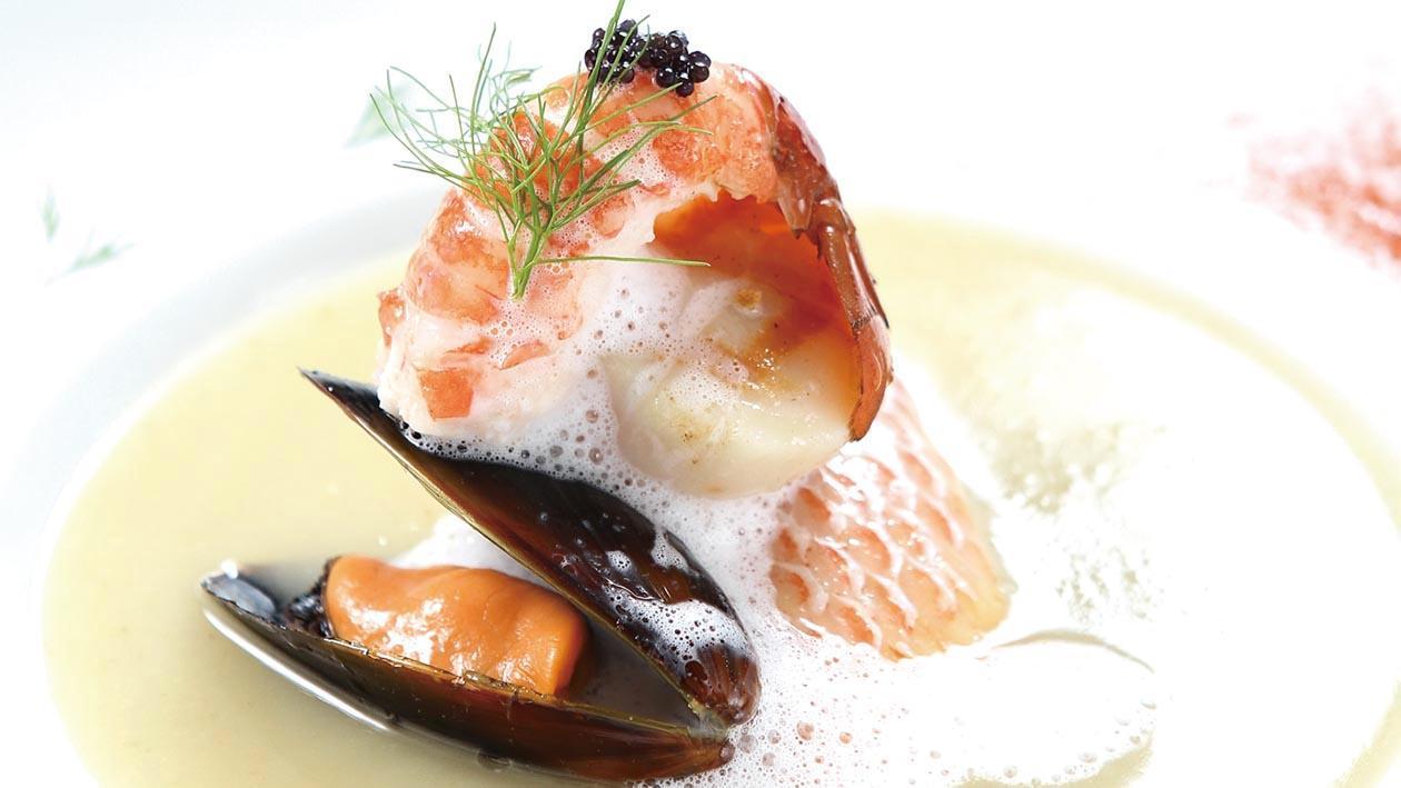 法式茴香海鮮濃湯