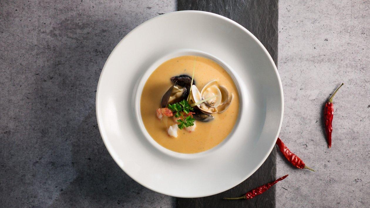 泰式酸辣椰奶風味海鮮湯