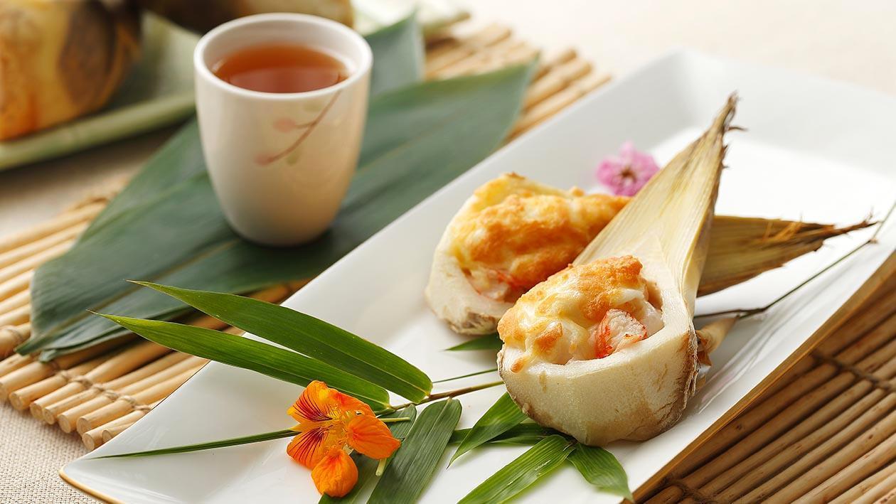 海鮮焗玉竹筍