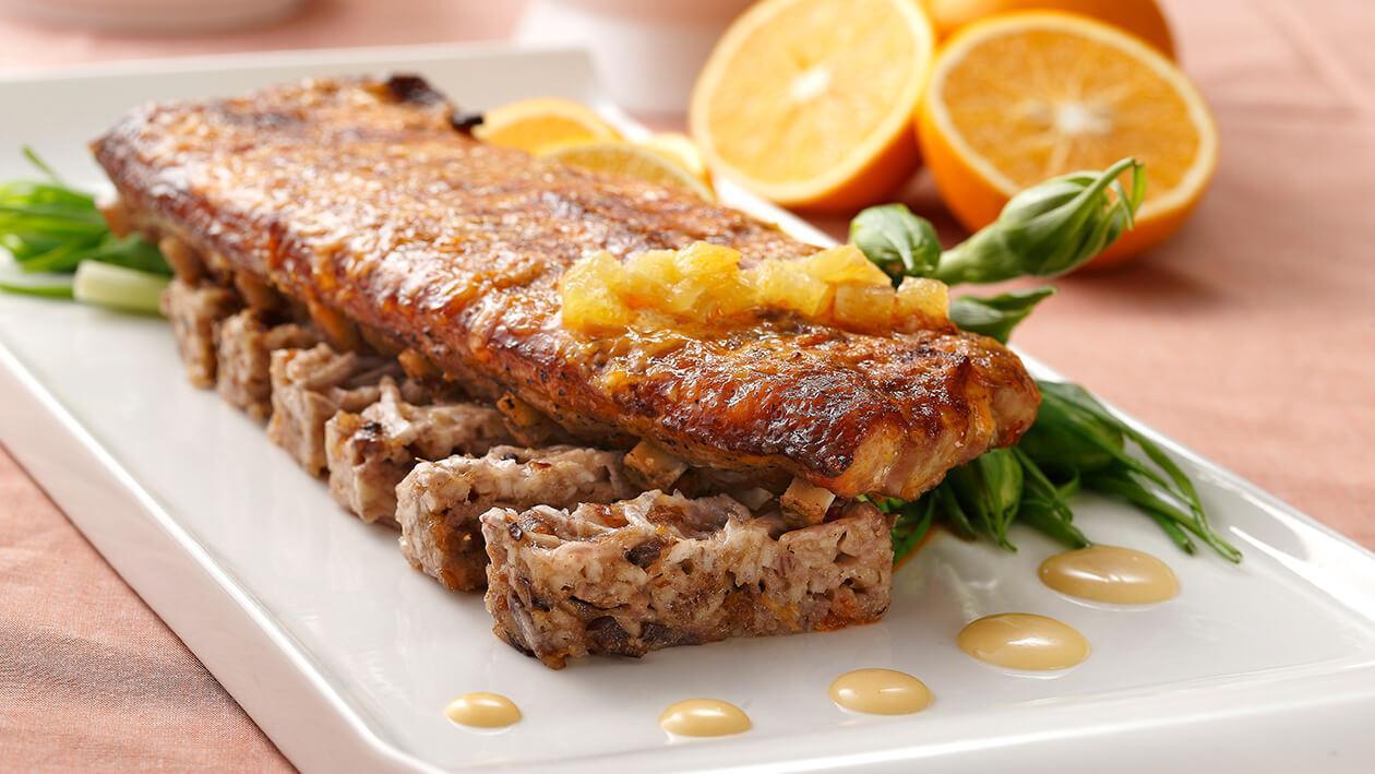 焗烤香橙美玉排骨