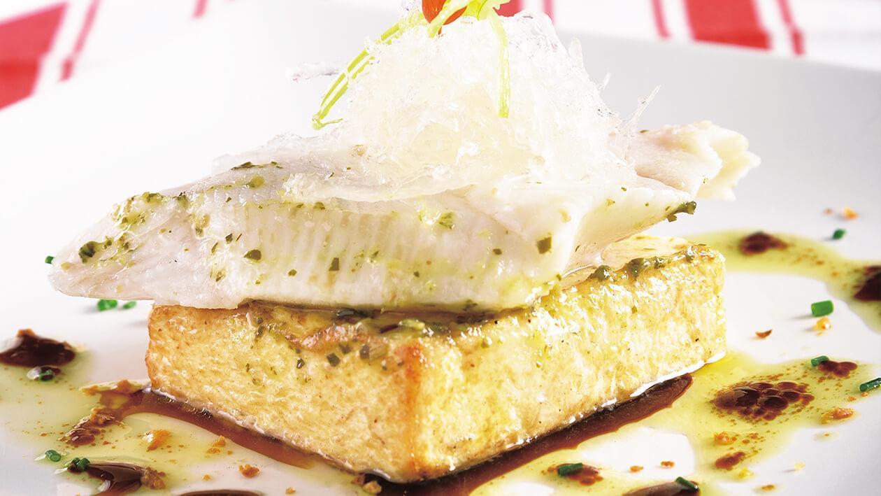 燕窩豆腐蒸鱈魚