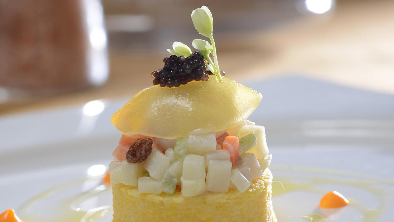 瑤柱果凍龍蝦沙拉
