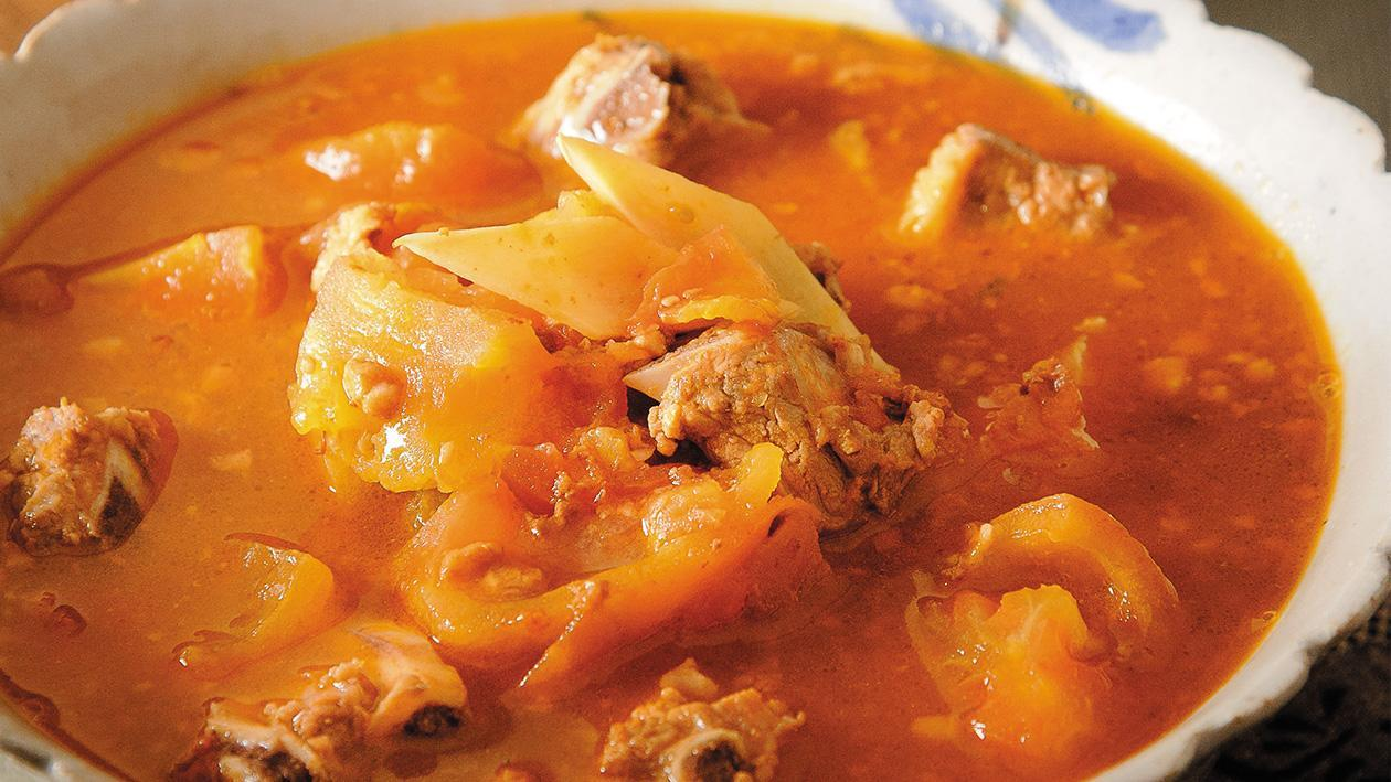番茄排骨湯
