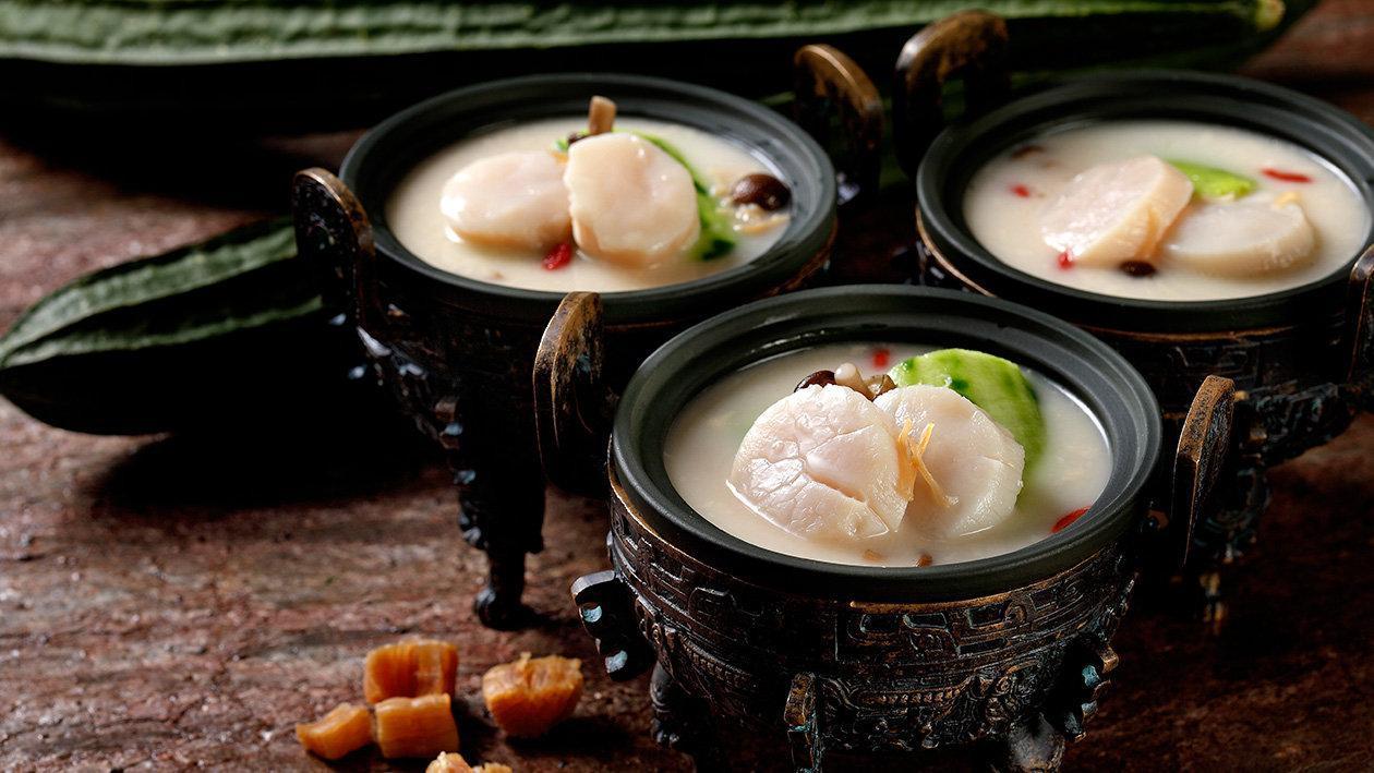 白玉翡翠魚骨湯(創新版)