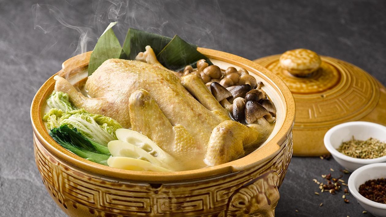 粽香鮮筍神仙鴨