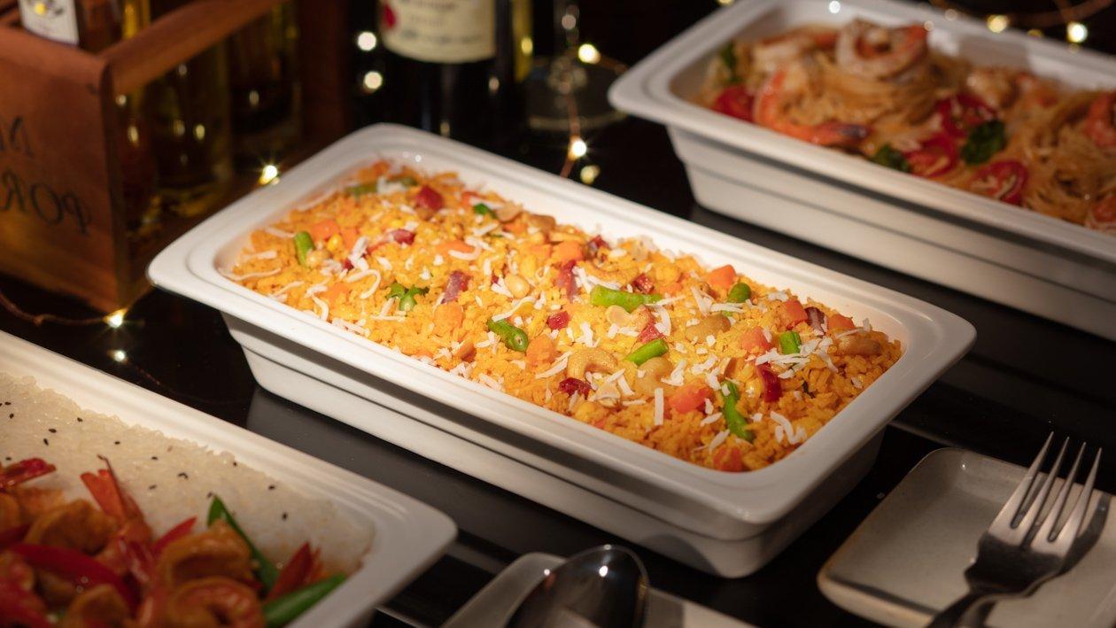 紅咖哩叉燒炒飯(Buffet版)