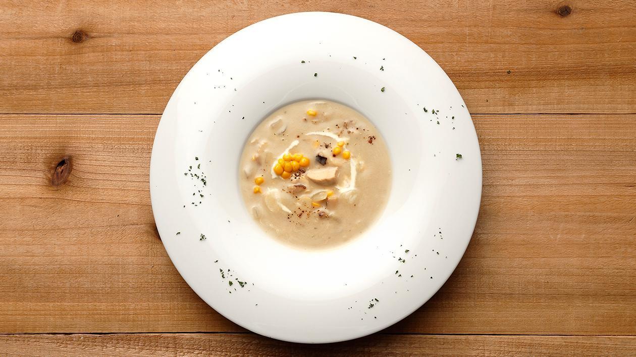 義大利雞肉牛肝菌濃湯