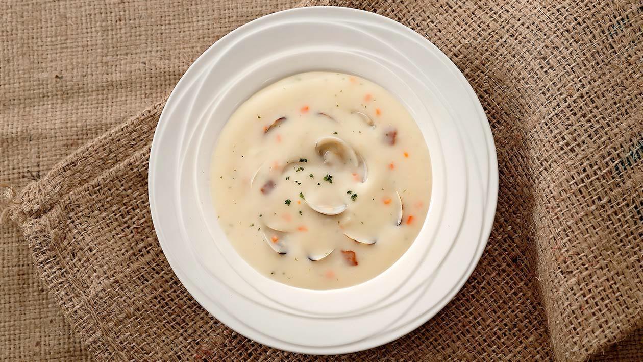 英格蘭蛤蠣巧達濃湯