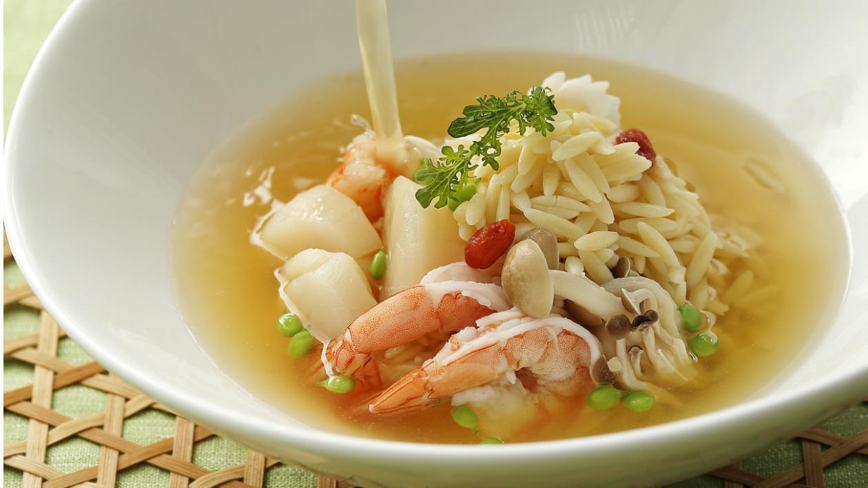 茶湯海鮮泡飯