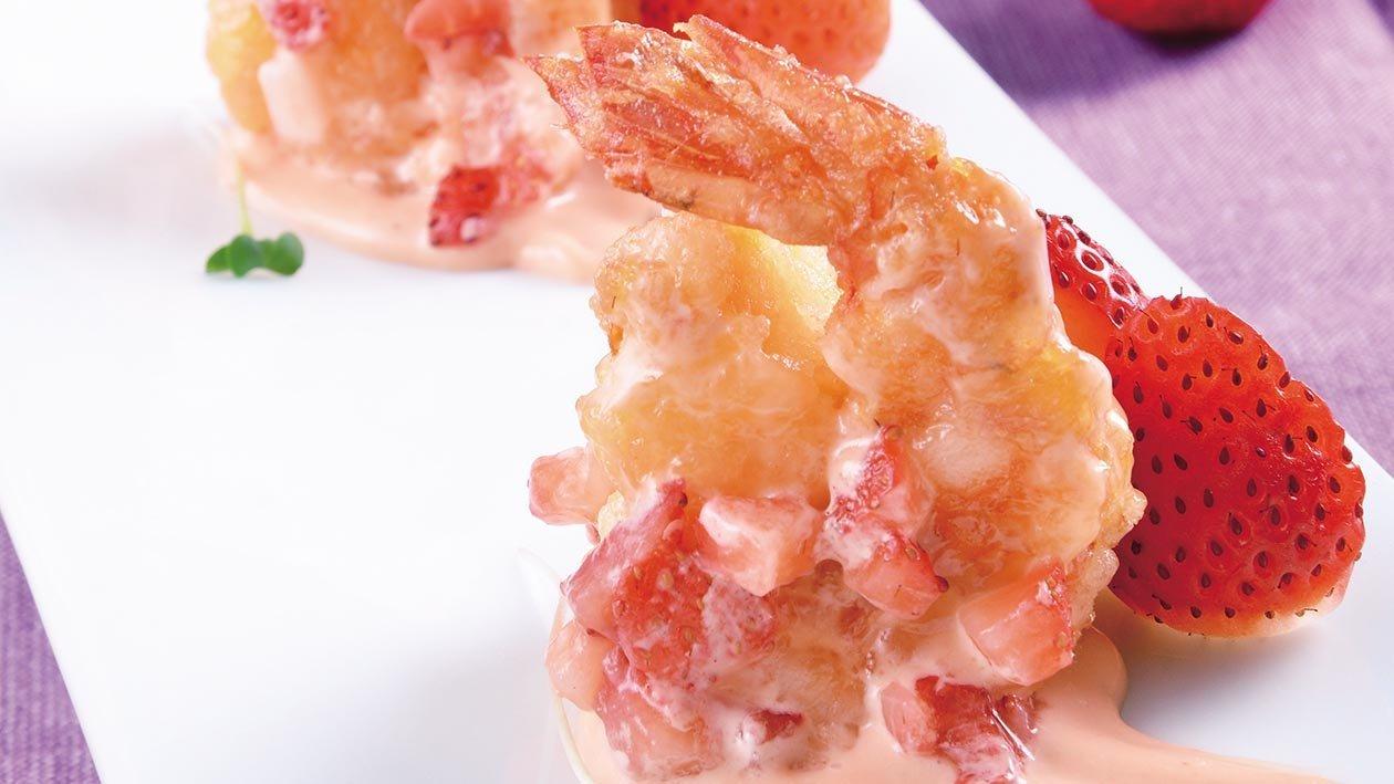 草莓千島鳳尾蝦