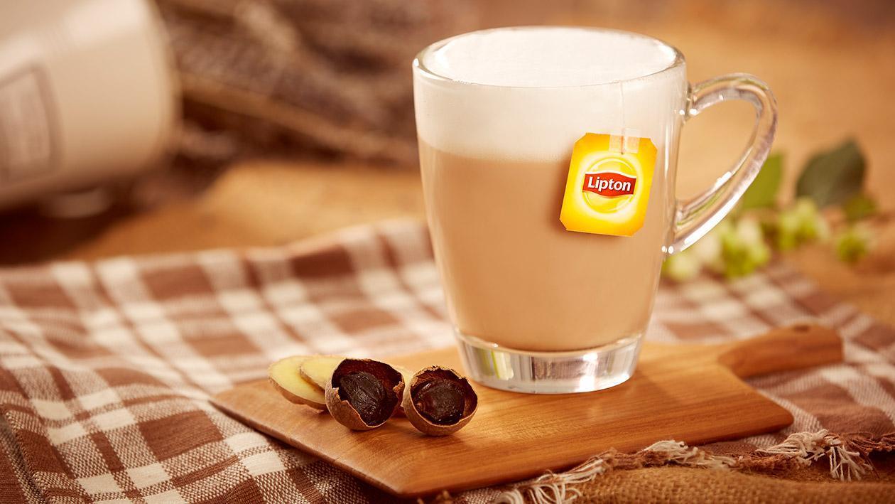 薑圓鮮奶茶