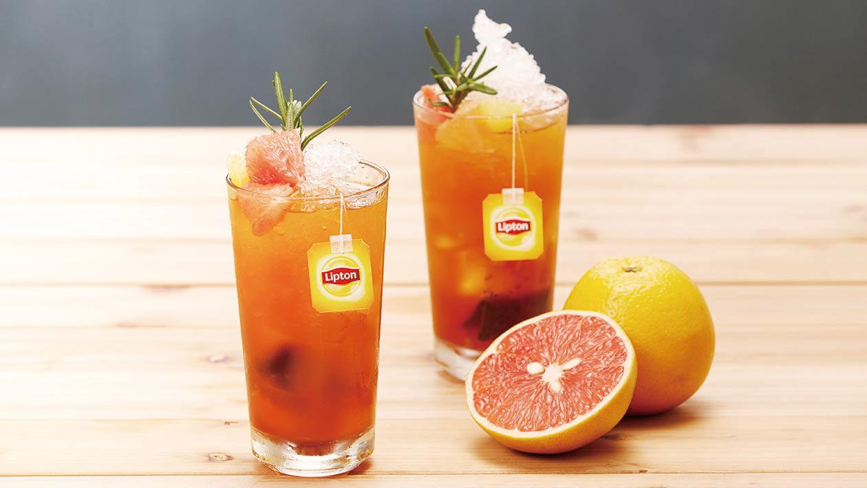 蜜柚馬鞭草冰紅茶