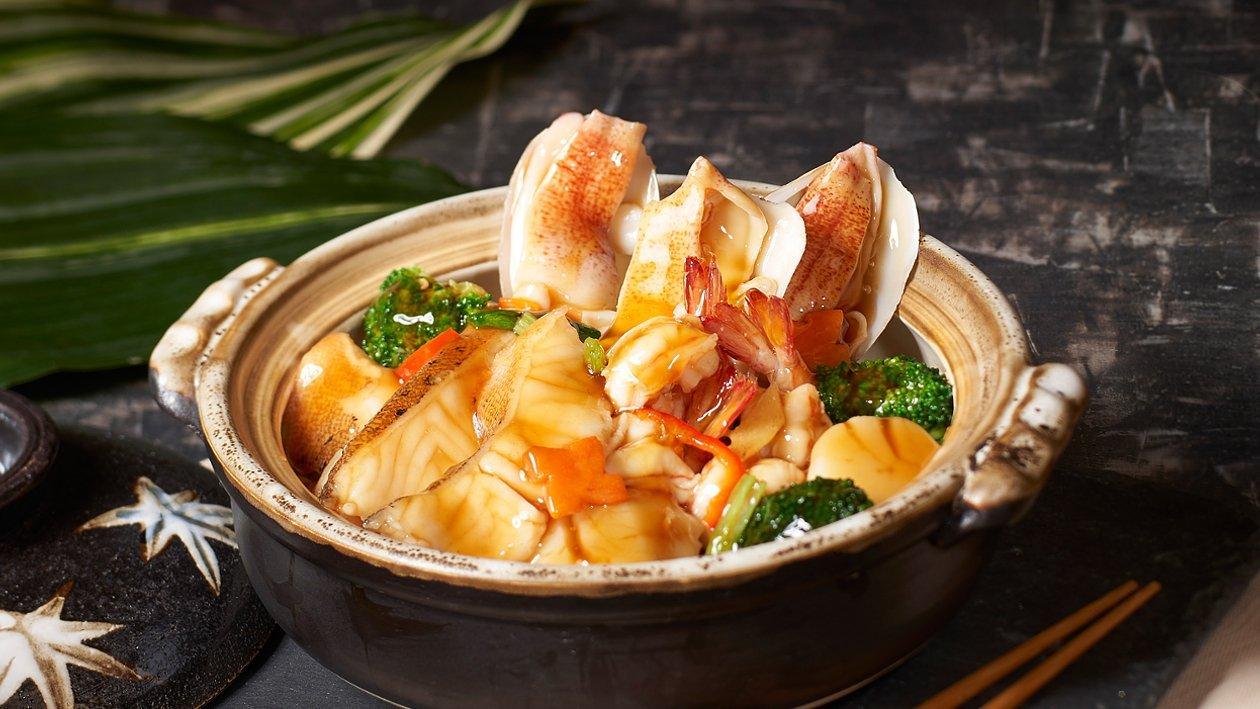 蠔皇海鮮煲