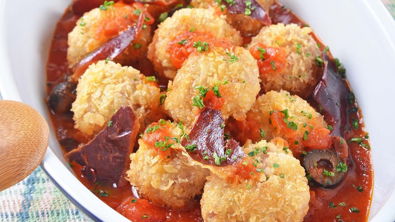 西班牙炸豬肉丸子
