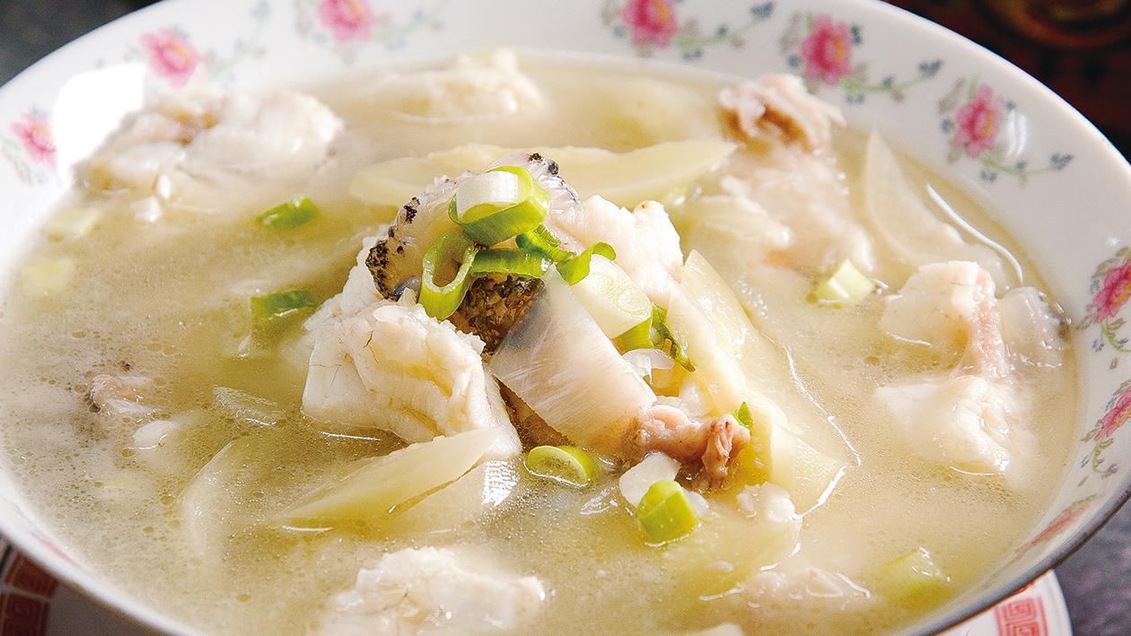 西瓜綿鮮魚湯