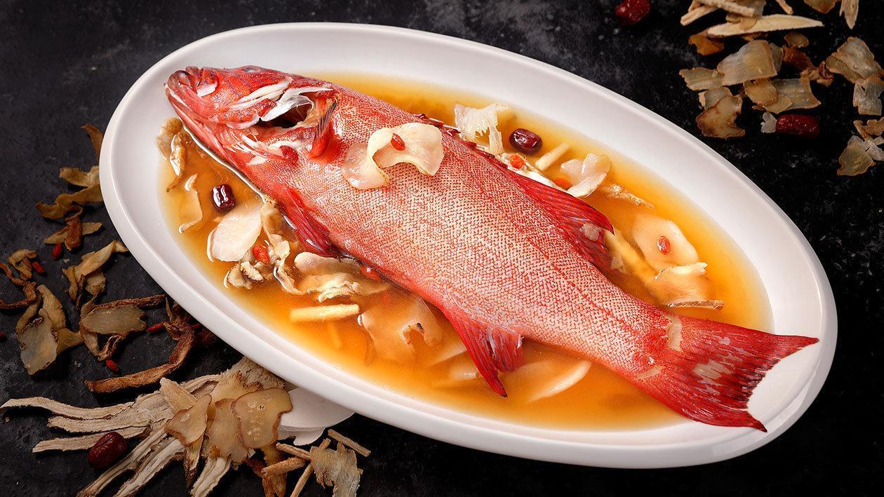 譚府天麻蒸魚
