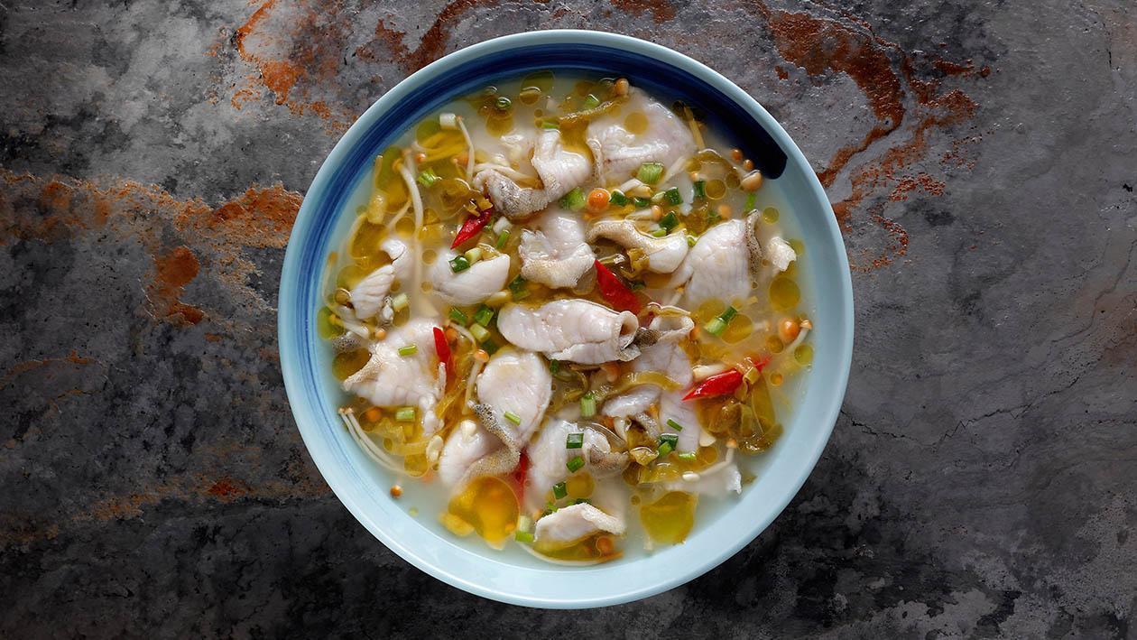 酸菜魚 (味型:酸辣味)
