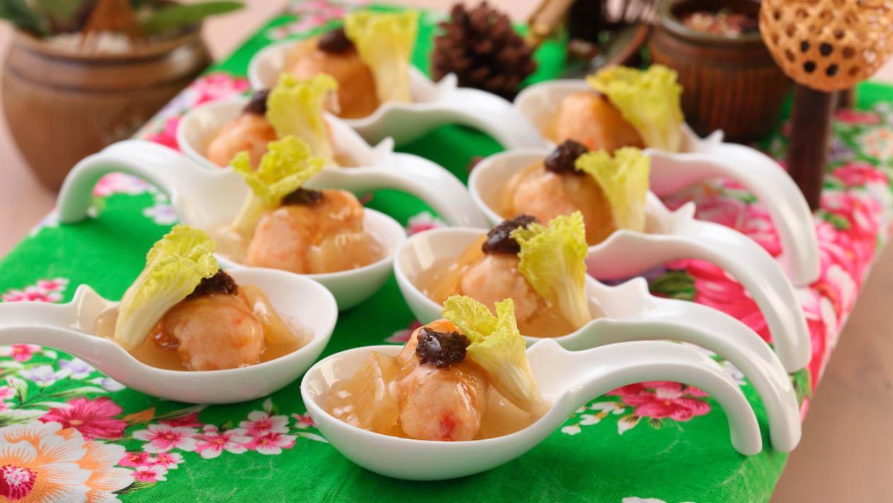 醬筍魚籽鮮魷卷