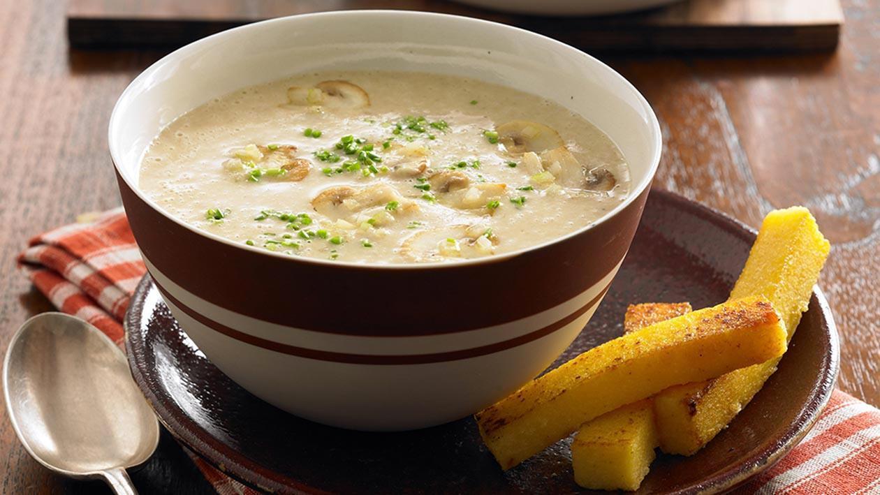 野菇奶油湯