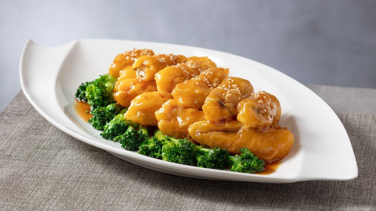 雙蠔蠔油鮮蔬燴魚柳
