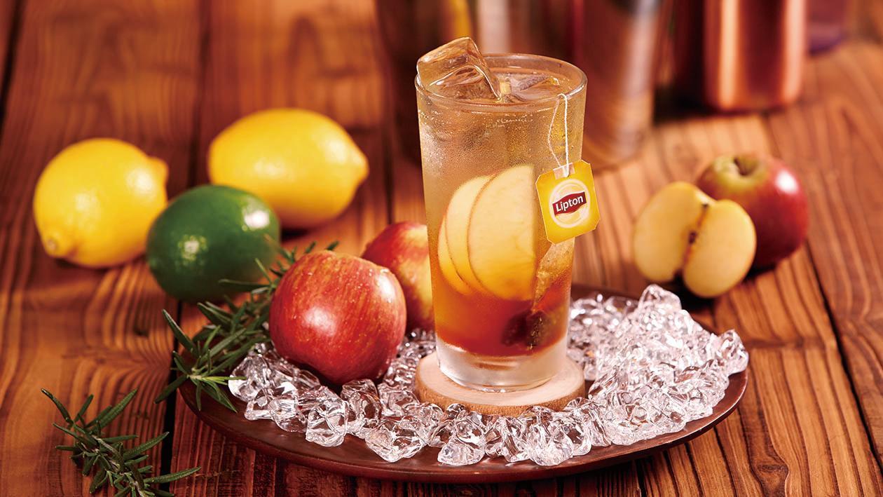 香料蘋果氣泡紅茶