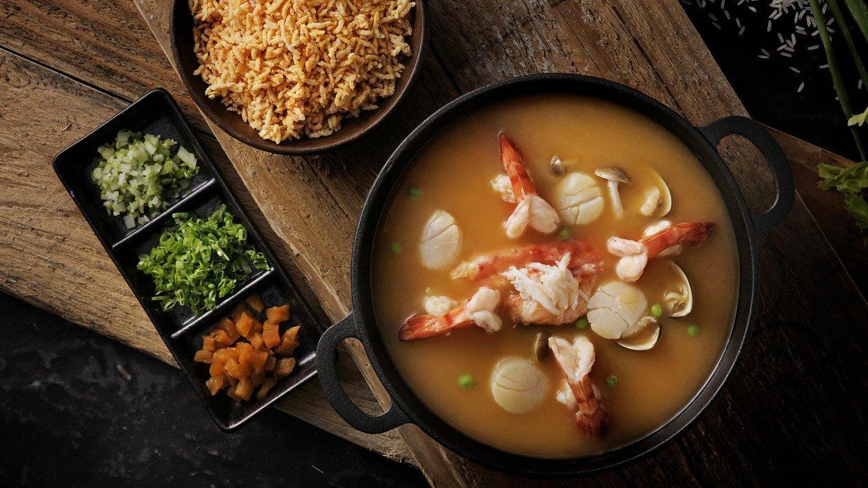 龍蝦金湯響脆米